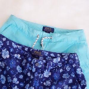 2pcs Bundle Deal Boys Polo Shorts